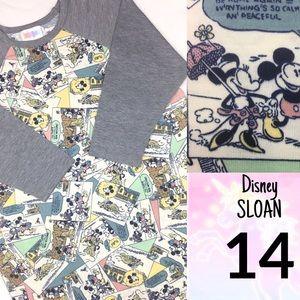 LuLaRoe KIDS 14 DISNEY Sloan Top Mickey Mouse